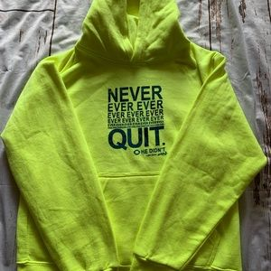 Other - Jesus neon yellow kids hoodie